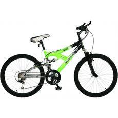 Велосипед Comanche Indigo Ds Черный-зеленый, фото 1
