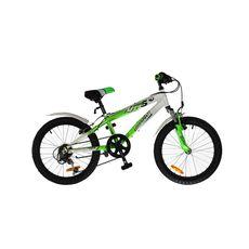 Велосипед Comanche Moto Six Белый-зеленый, фото 1