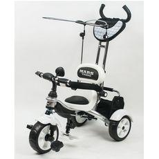 Велосипед 3-х колесный Mars Trike, надувные колеса, белый {KR01 air белый}, фото 1