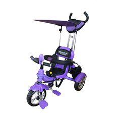 Велосипед 3-х колесный Mars Trike , надувные колеса, фиолетовый {KR01 air фиолетовый}, фото 1