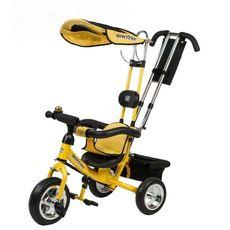 Велосипед 3-х колесный Mini Trike желтый {LT950 желтый}, фото 1