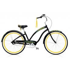 "Велосипед 26"" Electra Flora & Fauna 3i Ladies' Black (SKDU-28-41), фото 1"