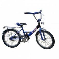 """Велосипед Mars 20"""" ручной тормоз + эксцентрик, синий/черный {С2001 с/ч}, фото 1"""