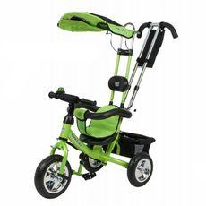 Велосипед 3-х колесний Mini Trike надувные колеса (зеленый), фото 1