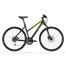 Велосипед Ghost Cross 5500 Lady grey/lime green/black 2012, фото 1