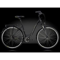 "Велосипед Bergamont 28"" Belami Lite N8 C2 2014 (рама 52 см) black/lime grey (matt), фото 1"