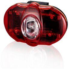 Фонарь светодиодн задн +батар. INFINI I-406R Vista 3 SMD LED, 2 режима, крепл. (LTS-36-41), фото 1