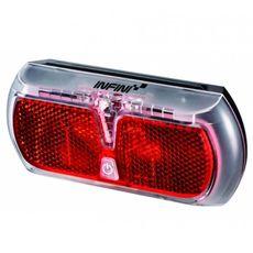 Фонарь светодиодн задн +батар. INFINI I-501R2 0.5W LED, 3 режима, фото 1