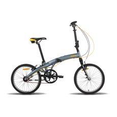 Велосипед 20'' Pride Mini 3sp RST серо-оранжевый матовый 2016, фото 1