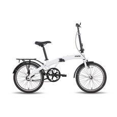 Велосипед 20'' Pride Mini 1sp белый глянцевый 2016, фото 1