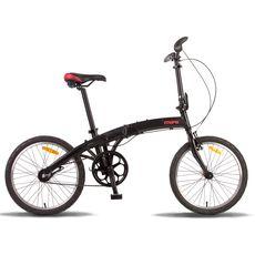 Велосипед 20'' Pride Mini 3sp черно-красный матовый 2016, фото 1