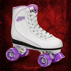 Роликовые коньки Roller Derby ROLLER STAR 600 women milk/lila, фото 1