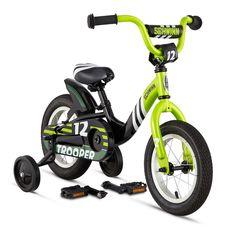 "Велосипед 12"" Schwinn Trooper boys 2015 black/lime, фото 3"