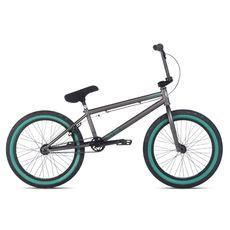 """Велосипед 20"""" Stolen Score 2 2014 Matte Raw Silver w/Green, фото 1"""