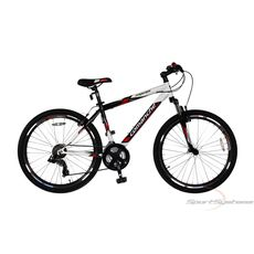 Велосипед Comanche Prairie Белый-черный-красный, фото 1