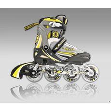 Роликовые коньки Спортивная Коллекция Ultra Delux Yellow / размер 37-40, фото 1