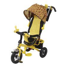 Велосипед 3-х колесный MiniTrike , надувные колеса, Зоо жираф {777 жираф}, фото 1