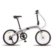 Велосипед 20'' Pride MINI 6sp серебристый глянцевый 2015, фото 1