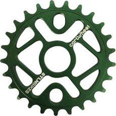 Звезда к шатуну Stolen Cartwheel 25T, 5mm Green, фото 1
