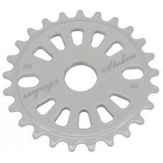 Звезда к шатуну Stolen 25T Class chainring CNC White 5mm 6061, фото 1