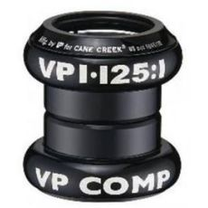 "Рулевая колонка 1-1/8"" VP VP-A69AC Al 89гр на промах черный (HSE-02-43), фото 1"