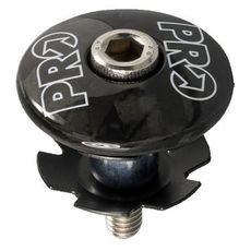 """Ромашка с крышкой PRO Gap Cap carbon, 50мм 1-1/8"""", для карбон. рулевой, фото 1"""