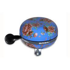 Звонок Basil BIG BELL BLOOM на руль цветочек дин-донг, diva blue, фото 1