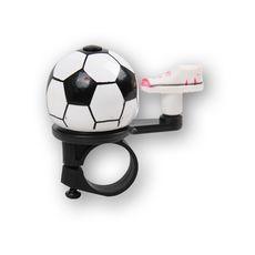 Звонок Green Cycle GCB-023A-BK футбольный мяч (BEL-35-96), фото 1