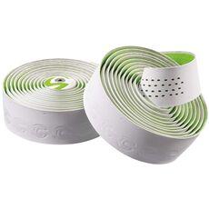 Обмотка руля Cannondale Microfiber Plus white-green (BTP-02-82), фото 1