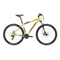 "Велосипед 27.5"" Cannondale Trail 7 S механ. Tektro Novella, 24 ск., Altus 2015 желтый, фото 1"