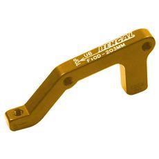 Адаптер Bengal торм. калипера задний 203mm IS золотой (ADP-02-23), фото 1
