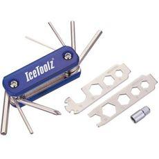 Ключ ICE TOOLZ 93B1 складной 20 инструментов (TOO-29-03), фото 1