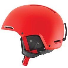 Шлем горнолыжный Giro Battle Matte Red Glowing, фото 1