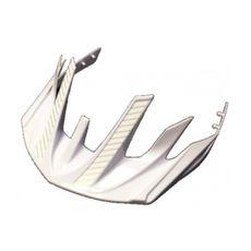Козырек на шлем Cannondale Radius-Visor бело-серебр. (ACC-07-02), фото 1