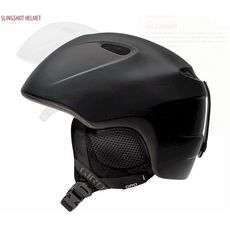 Шлем горнолыжный Giro Slingshot Matte Black, фото 1