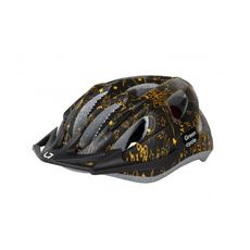 Шлем детский Green Cycle Fast Five черно-золотистый, фото 1