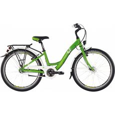"Велосипед 24"" Bergamont Belamini N3 2015 green/white (shiny), фото 1"