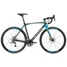 "Велосипед 28"" Bergamont Prime CX Team 2016 black/cyan/neon/white, фото 1"