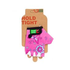 Перчатки Green Cycle NC-2529-2015 Kids без пальцев розовые, фото 1