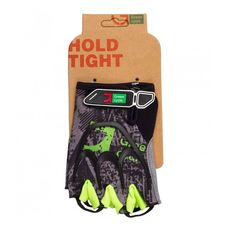 Перчатки Green Cycle NC-2517-2015 Road без пальцев серо-зеленые, фото 1