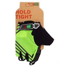 Перчатки Green Cycle NC-2319-2014 Road без пальцев зеленые, фото 1