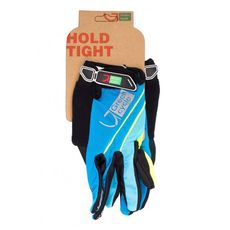Перчатки Green Cycle NC-2572-2015 MTB с закрытыми пальцами синие, фото 1