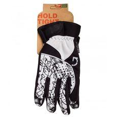Перчатки Green Cycle NC-2409-2014 Winter с закрытыми пальцами черно-белые, фото 1