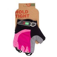 Перчатки Green Cycle NC-2523-2015 MTB Feminine без пальцев розово-черные, фото 1