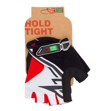 Перчатки Green Cycle NC-2318-2014 Road без пальцев бело-красные, фото 1