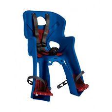 Сиденье переднее Bellelli Rabbit Handlefix до 15кг, синие с красной подкладкой (SAD-25-77), фото 1