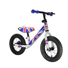 "Беговел 12"" Kiddimoto Super Junior MAX SUPER JACK металлический (SKD-93-93), фото 1"
