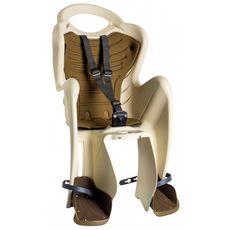 Сиденье заднее Bellelli Mr Fox Сlamp (на багажник) до 22кг бежевое с коричневой подкладкой (SAD-20-11), фото 1