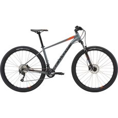 "Велосипед 27,5"" Cannondale Trail 7 SGY серый с оранжевым 2018, фото 1"