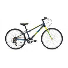 """Велосипед 24"""" Apollo Neo boys Geared Gloss Charcoal/Gloss Lime/Gloss Blue (SKD-33-86), фото 1"""
